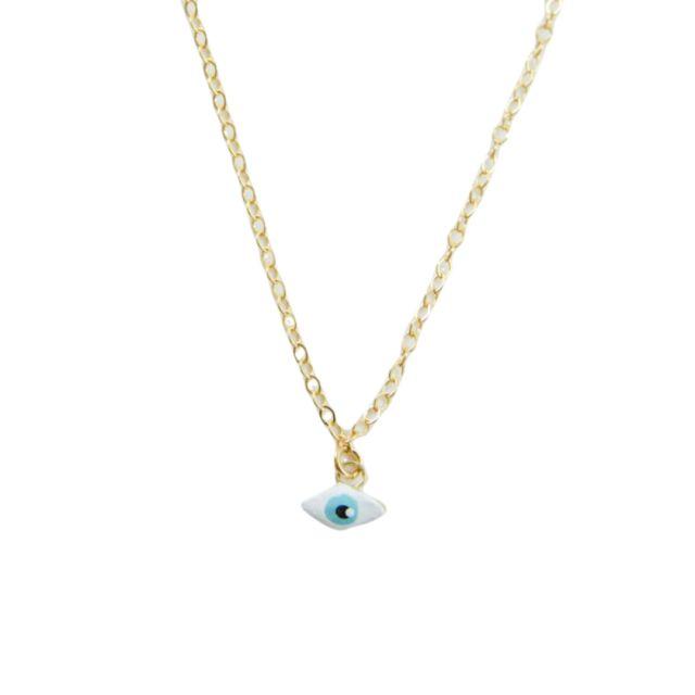 Evil Eye Necklace by Susan Alexandra