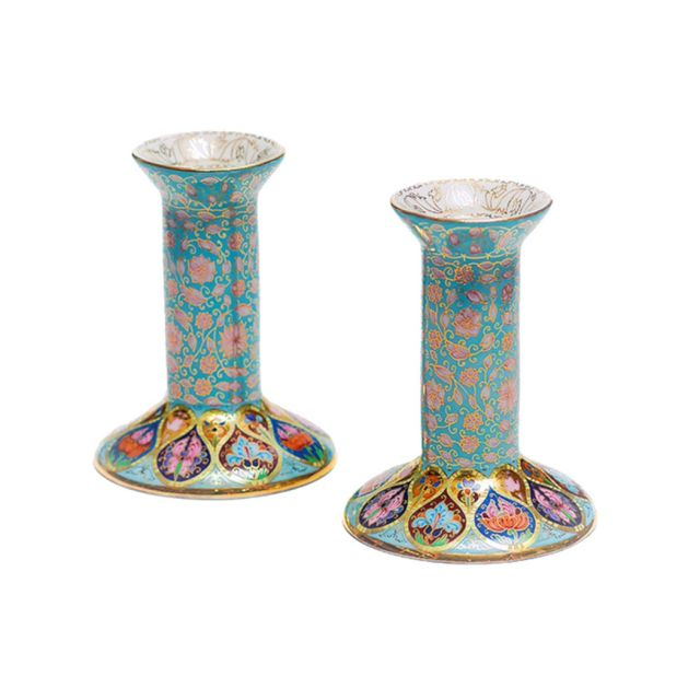 Fabergé Candlesticks by Zvezdin's Workshop