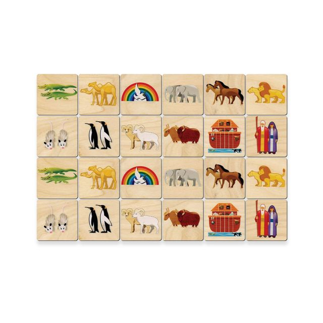 Noah's Ark Memory Game