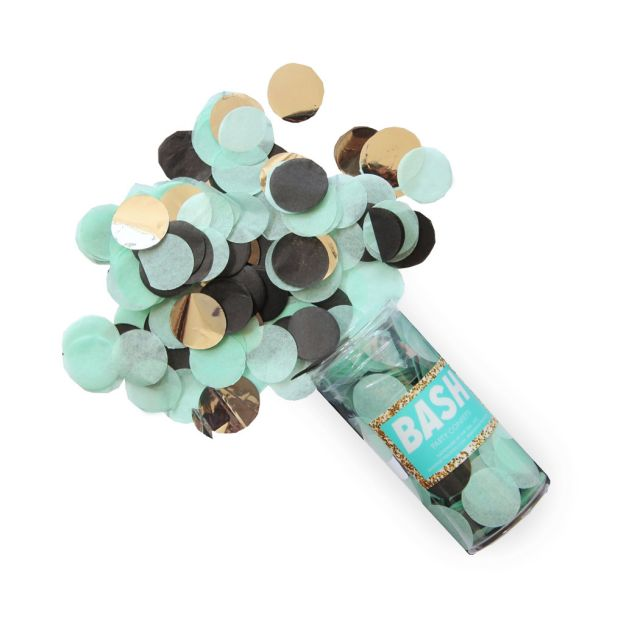Memphis Confetti by Bash Party Goods in Mint