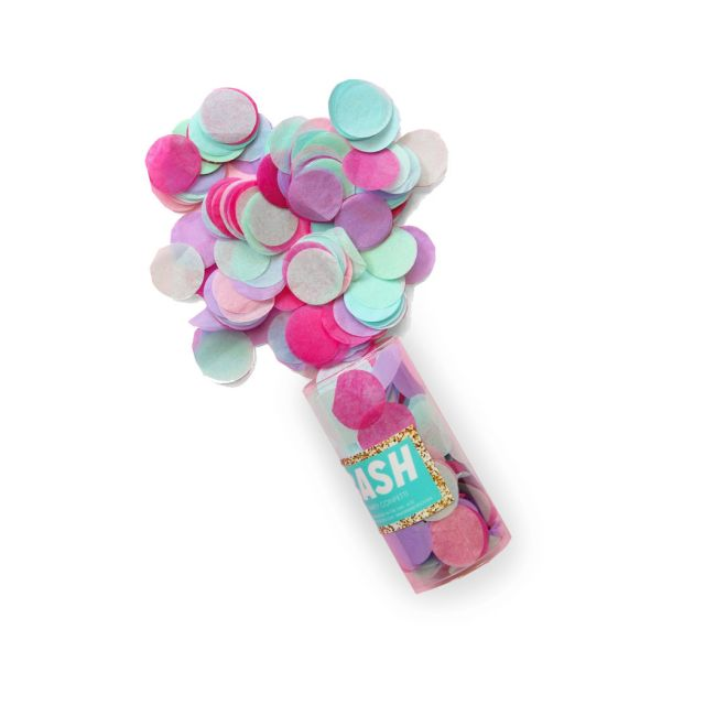 Memphis Confetti by BashParty Goods in Pastel