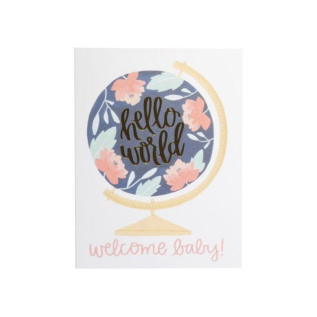New Baby Notecard: Hello World