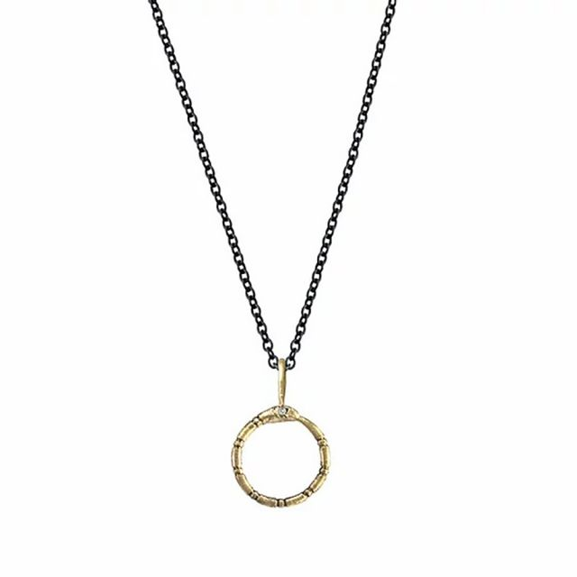 Ouroboros Necklace by Acanthus Jewelry