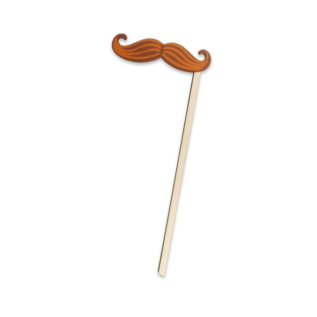 Purim Silly Stick: Handlebar Mustache