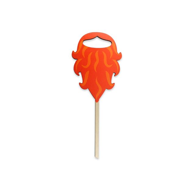 Purim Silly Stick: Viking Beards