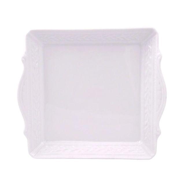 The Louvre Collection Matzah Plate by Bernardaud