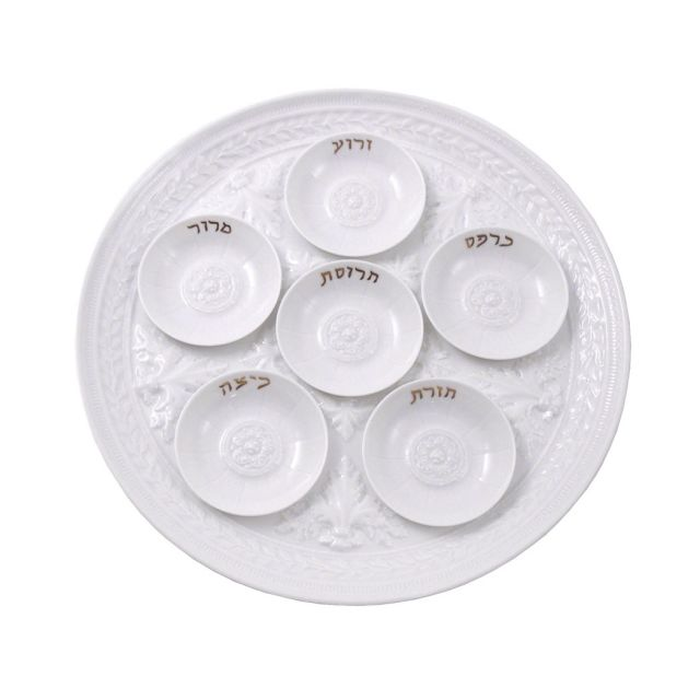 The Louvre Collection Seder Plate by Bernardaud