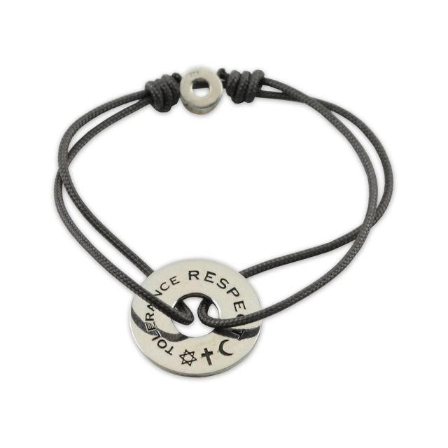 Tolerance and Respect Bracelet by Catherine Zadeh for the Jewish Museum