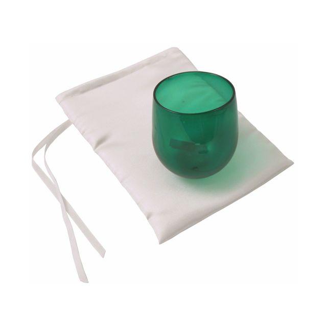 Wedding Smash Glass by Shardz: Green