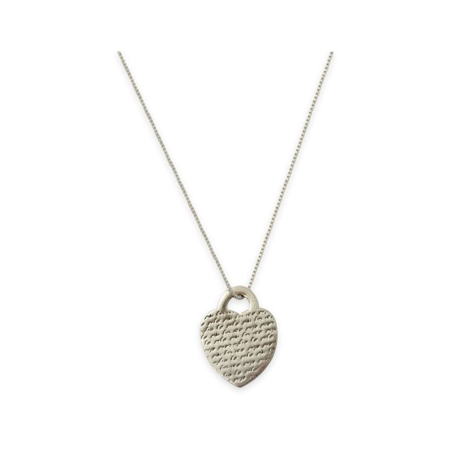 Woman of Valor Heart Necklace